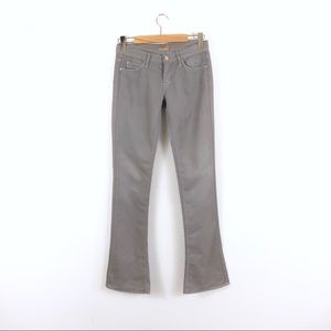 MOTHER The Runaway Deluxe Twill Gray Flare Jeans